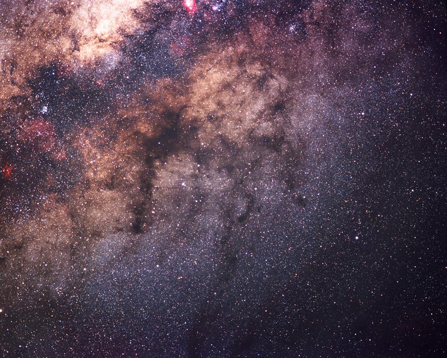 Dark Nebulae in the Summer Milky Way